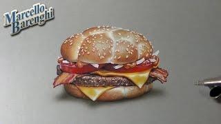 Drawing Time Lapse: McDonald