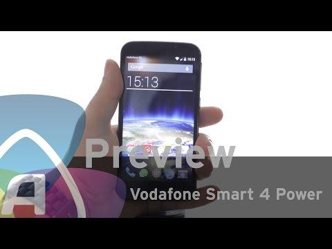 Vodafone Smart 4 Power preview (Dutch)