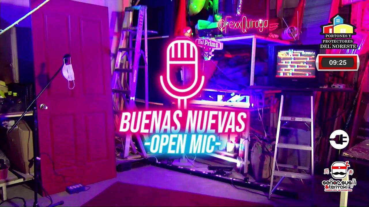 Buenas Nuevas Open Mic de comedia Programa #03