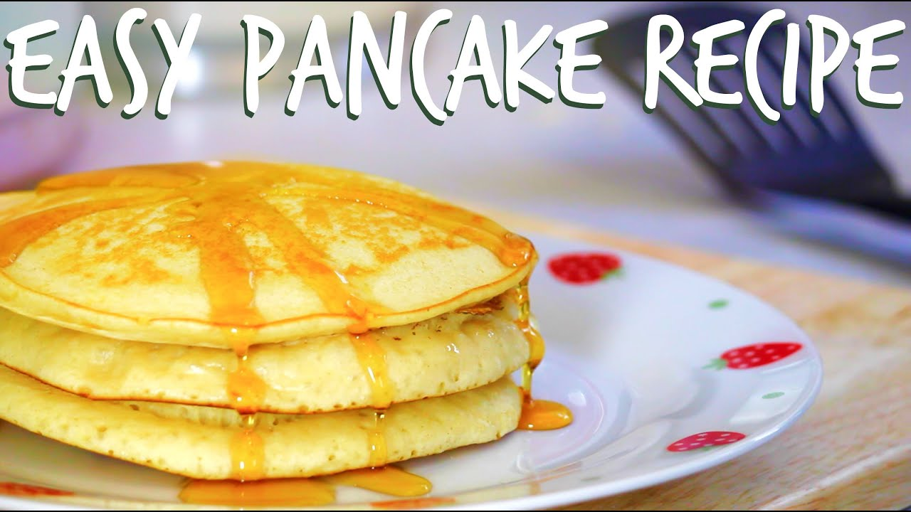 Easy pancake recipe youtube easy pancake recipe ccuart Gallery