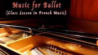 FRENCH MUSIC FOR BALLET CLASS (CENTER) バレエ レッスンピアノ音楽集 ...