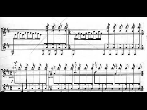 Keigo Fujii - The Legend of Hagoromo for Guitar (Score video)