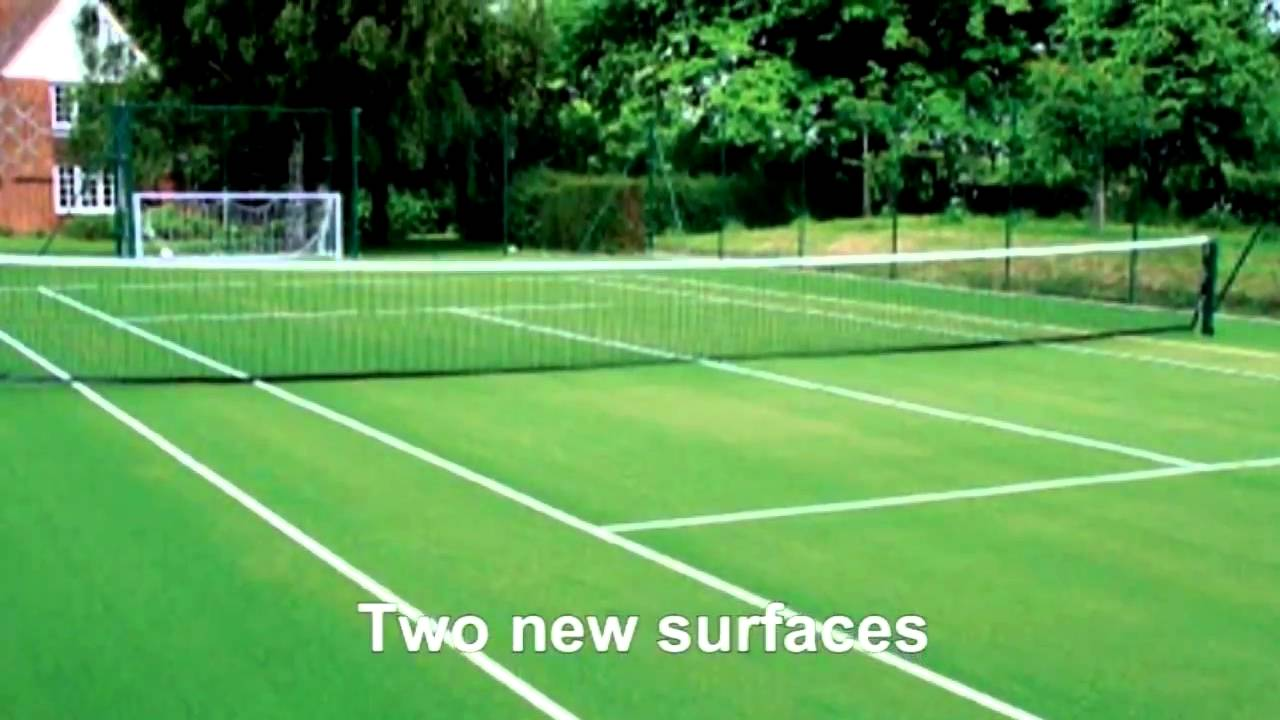 Tennis Synthetic Grass New Zealand Youtube