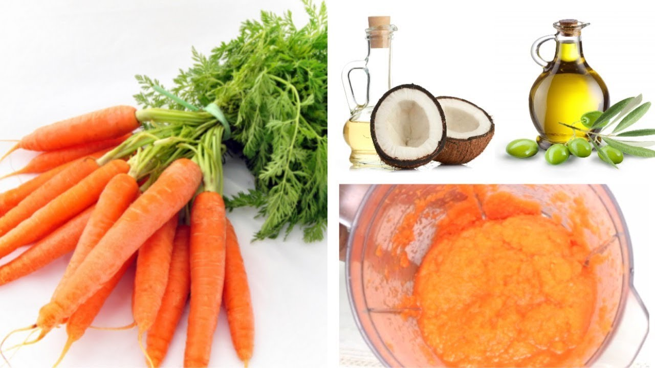 Diy Carrots Hair Mask For Split Ends Hair Loss Fast Hair Growth