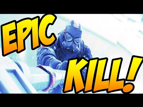 EPIC SLEDGEHAMMER KILL! | Rainbow Six Siege |