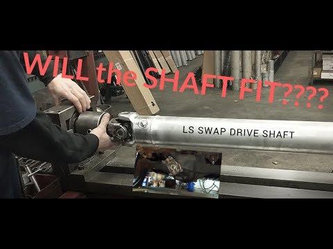 DRIVE SHAFT LS SWAP BALANCING DRIVESHAFT DARKNESS  PART 8