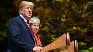 Trump and May's joint press conference - watch live thumbnail