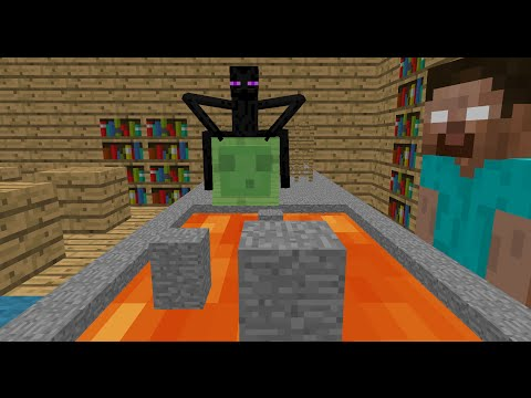 Monster School: Obstacle Course - Minecraft Animation