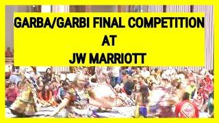 GARBA DANCE VIDEO | GARBA FINAL | NAVRATRI | GARBA VIDEO | JW MARRIOTT