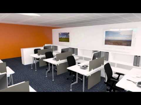 CGI Office Design Walkthrough