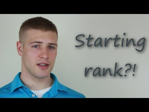 What rank will you be when joing the Air Force