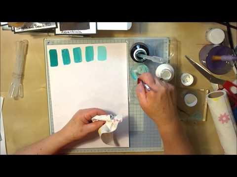 Spectrum Noir Aqua Tints - Mix Shading & Gold/Silver