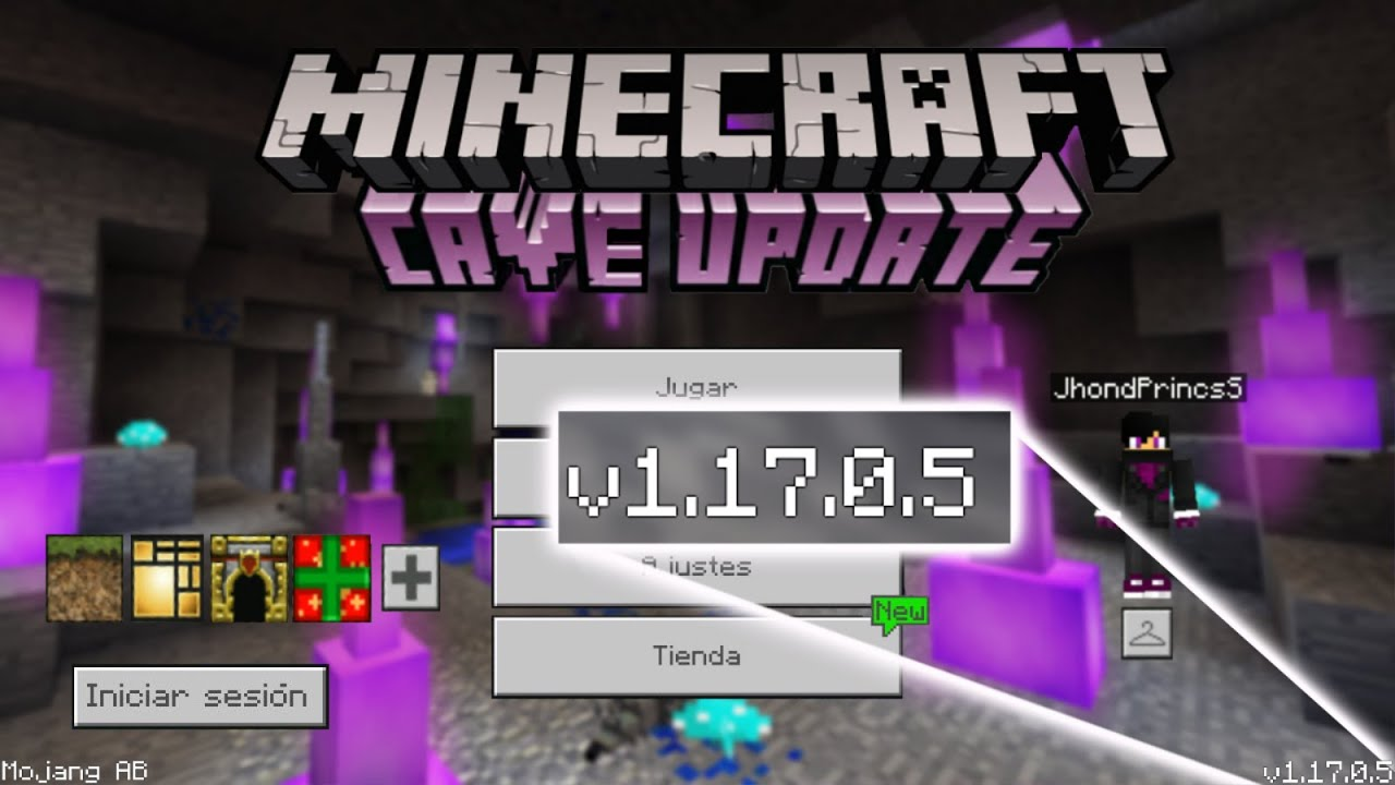Caves And Cliffs en Minecraft PE - Ultimate Update!