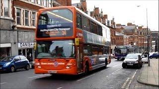 Trains Buses & Trams around Nottingham - Autumn 2014