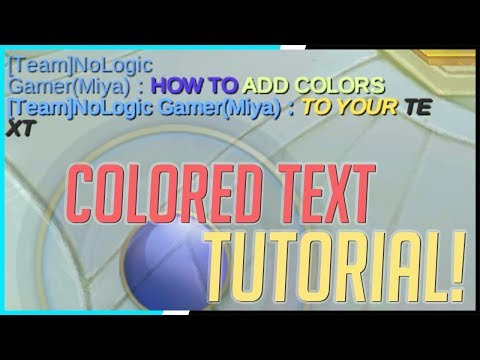Trick To Change Chat Text Color And Style! | Mobile Legends - Tips & Tricks | MLBB