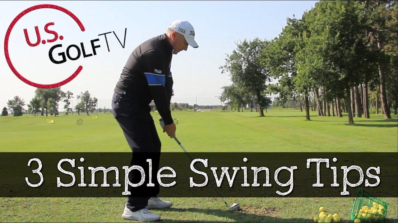 Basic Golf Swing Tips for Beginner ...