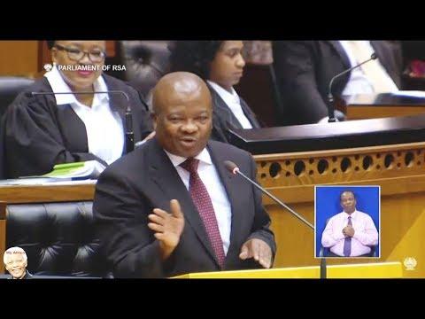 UDM Bantu Holomisa - No Confidence Debate Jacob Zuma