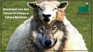 Acautelai-vos dos Falsos Profetas e Falsos Mestres
