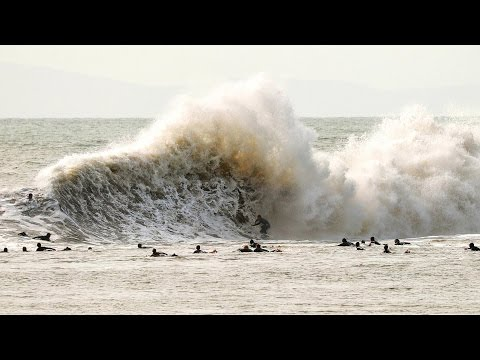 Surfing Mutant Waves at California