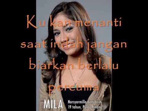 MILA DAN AKIM - KAU DAN AKU with lyrics