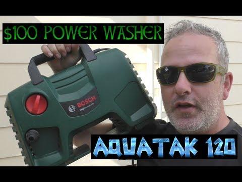 $100 power washer - Bosch Aquatak 120 / Aquatak 1700 (Canada)review