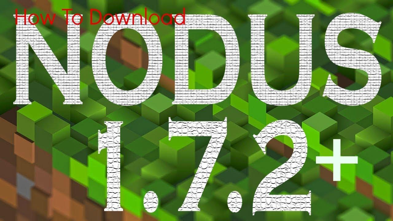 скачаты nodus на майнкрафт 1.7.2 #7