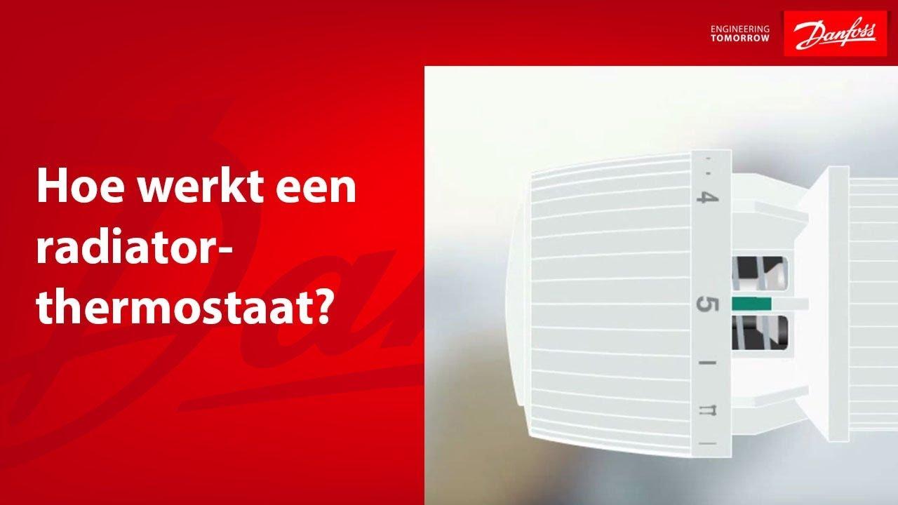 Hoe werkt een radiatorthermostaat youtube - Hoe een kleedkamer aanmaken ...