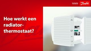 Hoe werkt een radiatorthermostaat?