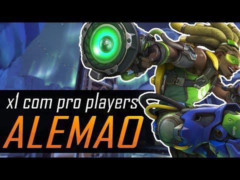 X1 COM PRO PLAYERS #05 - Alemao, o famoso Lúcio que mata mais que os DPS!