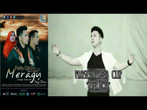 Moment pembuatan video clip lagu MERAGU | RAFLY GOWA d'academy3