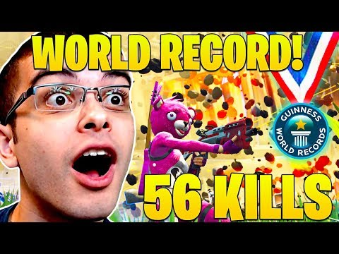 New World Record 56 Kills By Nick Eh 30 And Squad Fortnite Battle Royale Pc Record Youtube