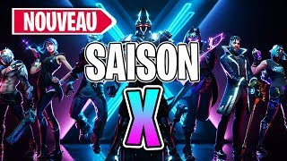 FORTNITE SAISON X - NEW COMBAT PASSE, SKINS, NEW MAP!