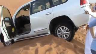 Dubai. Летающая Toyota Land Cruiser 200!!! )