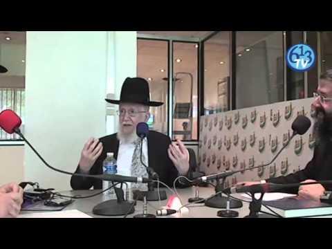 Radio J - Rav Zerbib reçoit Rav Mazouz - 613TV