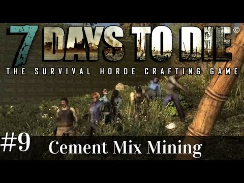 7 Days to Die | s2 ep9 | Cement Mix Mining! | Alpha 14.7 gameplay (1080p with music)