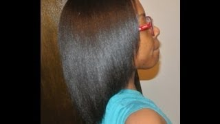 STRAIGHTER HAIR w/ BRAZILIAN KERATIN THERAPY SERUM REVIEW
