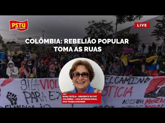 Colômbia: Rebelião Popular toma as ruas!