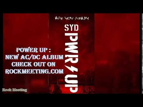 Ac Dc Power Up New Album Pwrup Pwr Up Youtube