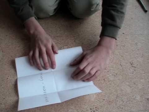 heft falten aus einem  blatt origami booklet youtube