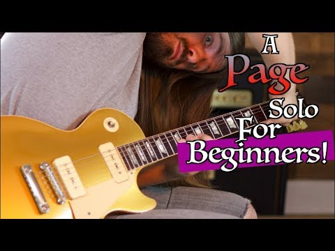 The Jimmy Page Solo Every Beginner Should Learn!