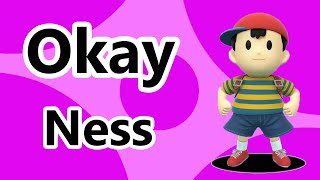 "SSB4 Wii U - Ness says ""Okay"" in response to other taunts"