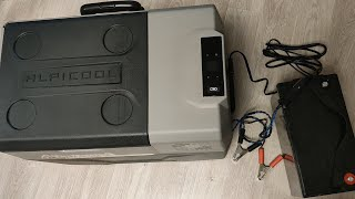 Автохолодильник Alpicool не работает от внеш. автономной 12В АКБ. Делаемчтобы работал Видео 1