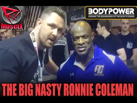 44a95afd3966a7 Ronnie Coleman At The 2016 BodyPower Expo! - YouTube