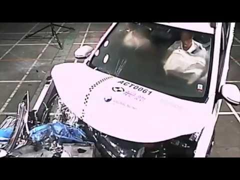Test crash honda Brv ASEAN NCAP