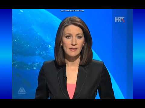 TV news intro evolution  - JRT TV Zagreb/HRT (Croatia, 1976-present)