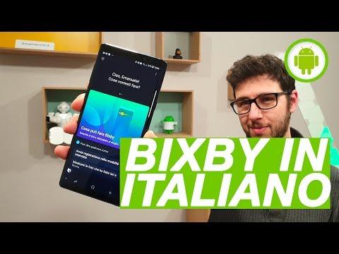 BIXBY in ITALIANO: la nostra prima prova