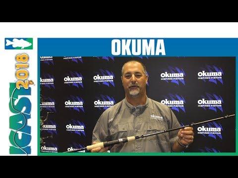 Okuma Fishing Nomad Xpress Travel Casting Rods  With John Bretza   ICast 2018