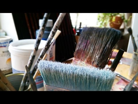 Dipingere e pitturare le pareti di casa - YouTube