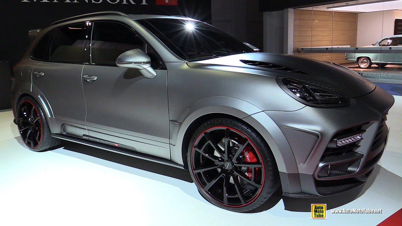 2015 porsche cayenne turbo mansory exterior interior walkaround 2015 frankfurt motro show