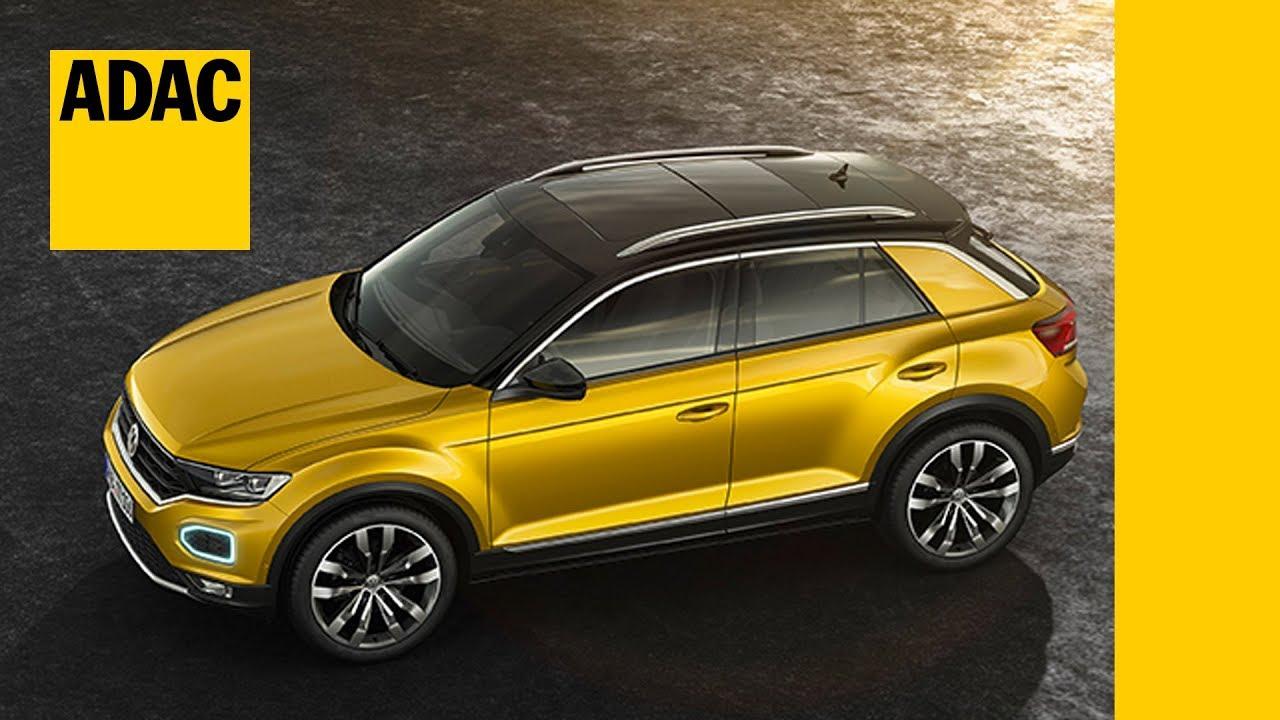 Vw Suv 2017 >> VW T-Roc: Daten, Fakten, Technik, Preise zum neuen Kompakt-SUV von Volkswagen | ADAC 2017 - YouTube